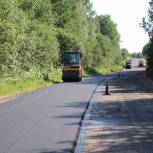 В Тверской области по нацпроекту «Безопасные качественные дороги» уложено около 2 млн квадратных метров асфальтобетона