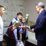 Валерий Лидин находится с рабочей поездкой в Сердобском районе