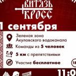 Экстремальный спортивно-исторический забег «Витязь-Кросс» состоится в Королёве при поддержке МГЕР Подмосковья