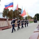 В Моршанске Тамбовской области открыли мемориал воинам-землякам