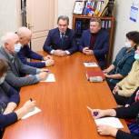Валерий Лидин встретился с профсоюзным активом Пензенской области