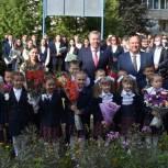 Николай Малов поздравил школьников Ядринского и Красночетайского районов с Днем знаний