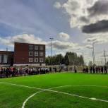 Партийцы открыли стадион в поселке Гари