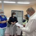 Единороссы Губкинского проверили качество питания в школьной столовой