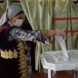 В Грибановском районе голосуют в национальных костюмах