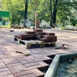 По просьбам жителей Чебаркуля в городе идет благоустройство Парка Победы