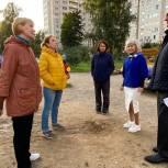Единороссы провели встречу с жителями в микрорайоне Юбилейный города Королева