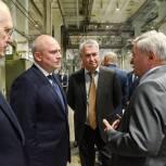 Замминистра промышленности РФ посетил кировские заводы