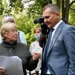 Вячеслав Фомичев провел встречу с жителями по вопросам социальной газификации в Балашихе