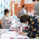 В Епифани голосуют на именном участке вирусолога Михаила Чумакова