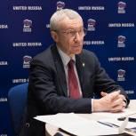 Андрей Климов провел встречу с Секретарем правящей в Казахстане партии Nur Otan Арманом Кырыкбаевым