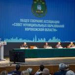 Владимир Нетёсов принял участие в заседании Совета муниципальных образований Воронежской области