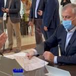 Председатель горсобрания столицы Марис Ильясов принял участие в голосовании