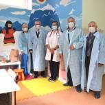 «Добрая комната» от «Единой России» открылась в Воскресенской районной больнице №1