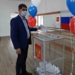Михаил Богатов принял участие в голосовании