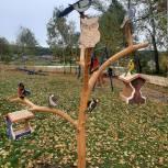 В поселке Синеборск Шушенского района строится досуговая площадка