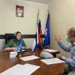 Депутат Месай Султамутова выслушала обращения граждан на площадке Приемной «Единой России»