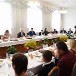 Игорь Руденя провёл встречу с многодетными и молодыми семьями ЗАТО Озерный