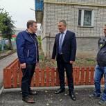 В Михайлове завершился ремонт двора на улице Тружениц