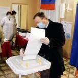 Глава Подгоренского района принял участие в голосовании