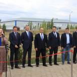 В Октябрьском районе открылись социально значимые объекты: новый ФАП и площадка ГТО