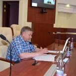 Александр Кичигин благодарит избирателей за участие в голосовании