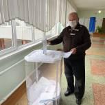 Сергей Егоров проголосовал на избирательном участке своего округа
