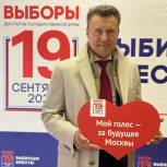 Анатолий Выборный: Голосование – это мгновение, которое повлияет на развитие России на многие годы вперед
