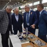 Тарас Ефимов и Вячеслав Фомичев посетили с рабочим визитом АО «НИТИ им. П.И. Снегирева» в Балашихе