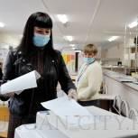 Глава города Кургана Елена Ситникова проголосовала на 849 избирательном участке
