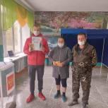 Многодетная семья Чемерыс из Ишимского района приняла участие в голосовании