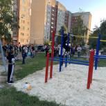 Сразу пять малых спортивных объектов установленны в Заводском районе