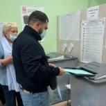 Альберт Геворгян проголосовал на выборах депутатов Государственной Думы РФ