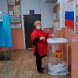 Вера Плотникова: Участие в выборах дает возможность выбрать достойных людей для управления страной