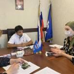 Депутат Шамиль Кудиямагомедов провел прием граждан на площадке приемной «Единой России»