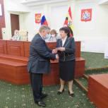 Александр Кичигин поздравил коллег по Курской областной Думы с получением депутатских мандатов
