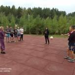 В Верхнем Уфалее состоялось торжественное открытие новой спортивной площадки в микрорайоне «Никельщиков»