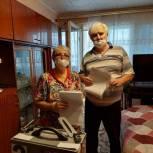 В Тайге пара пенсионеров приняла участие в выборах