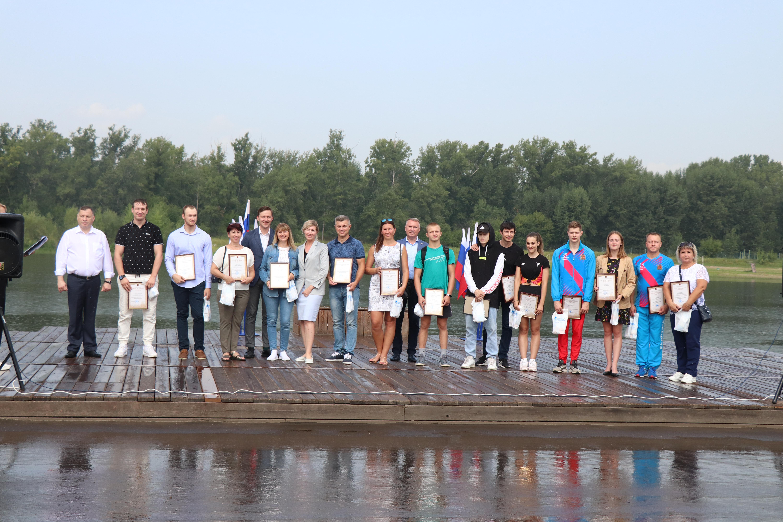 День физкультурника в Свердловском районе Красноярска с участием Юрия Швыткина