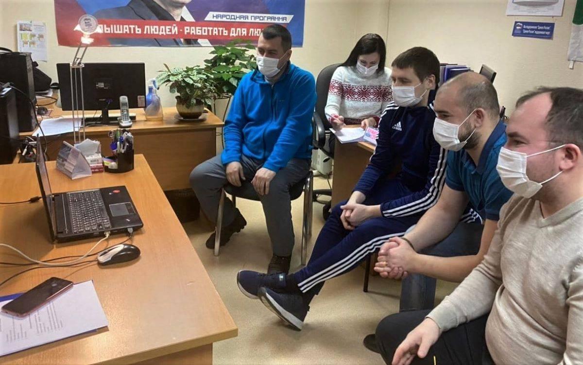 """Команда """"Северная сторона"""" Совета сторонников партии, капитан Иван Егоров"""