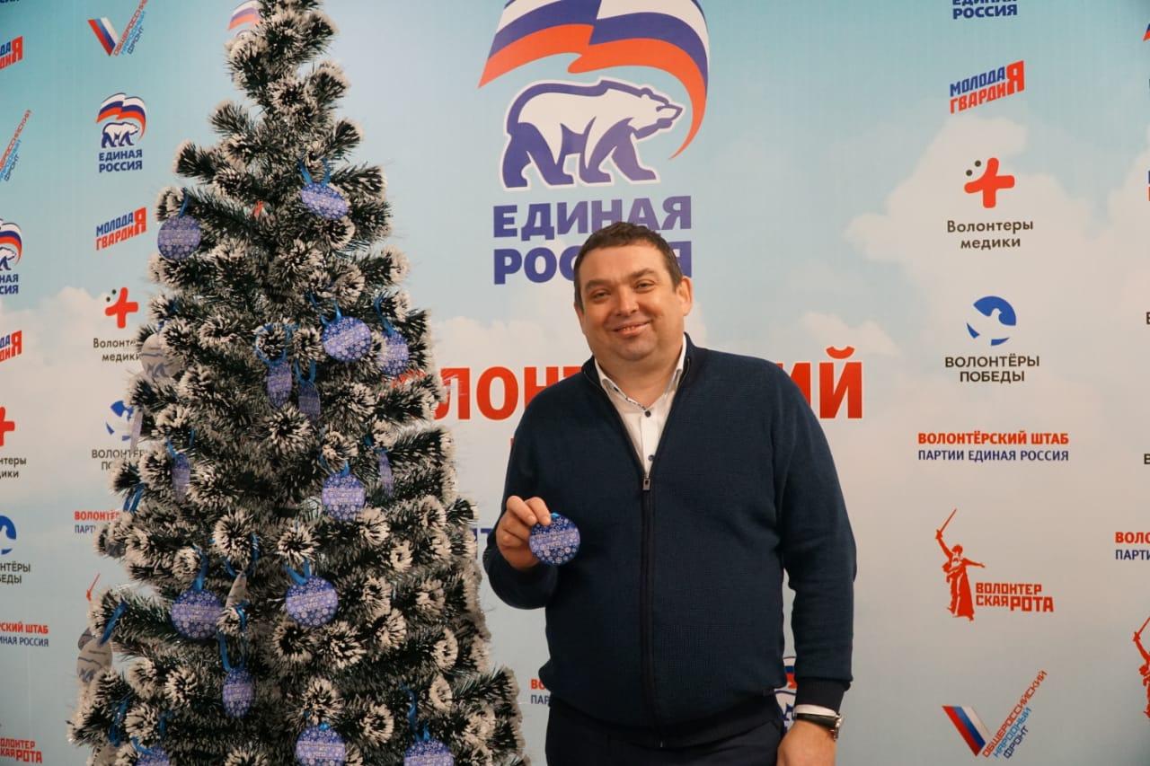 Дмитрий Абалымов подарит детскую палатку с тоннелем