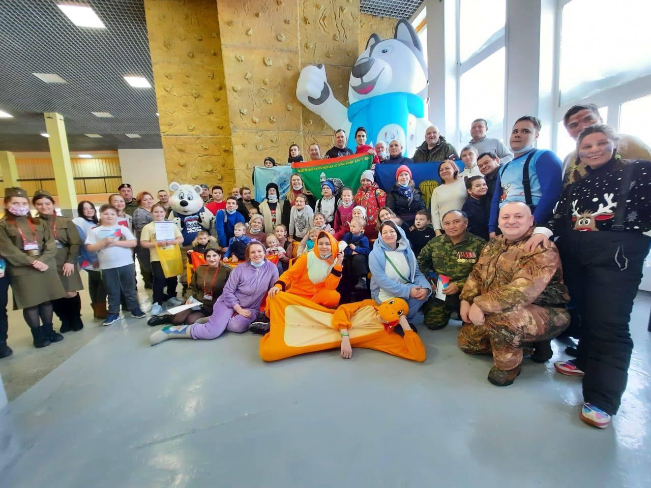 Красноярский край, г. Норильск, спортивные соревнования для детей с особенностями развития к 23 февраля