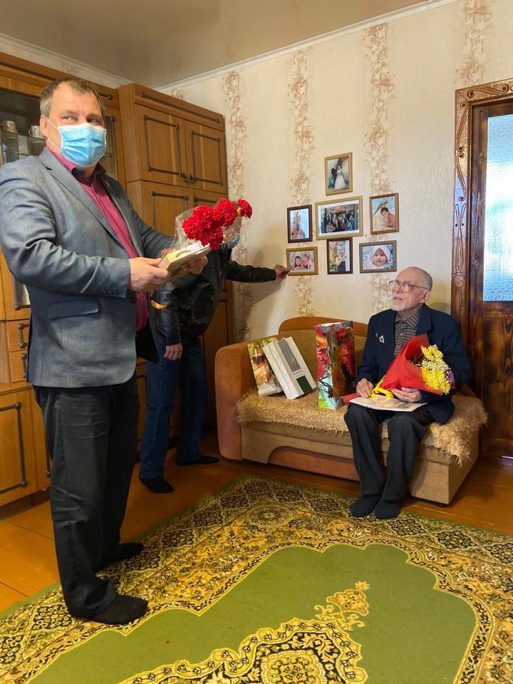 Верхнекетский район, Овчинников Аркадий Васильевич
