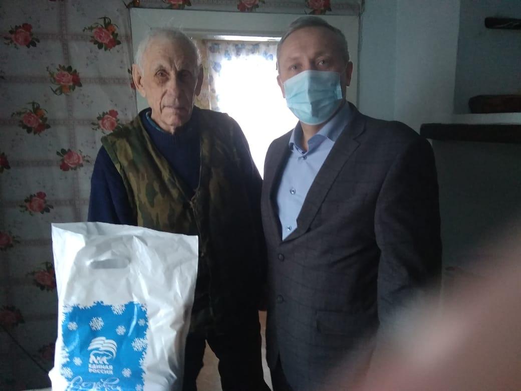 Парабельский район, Сухушин Вениамин Александрович