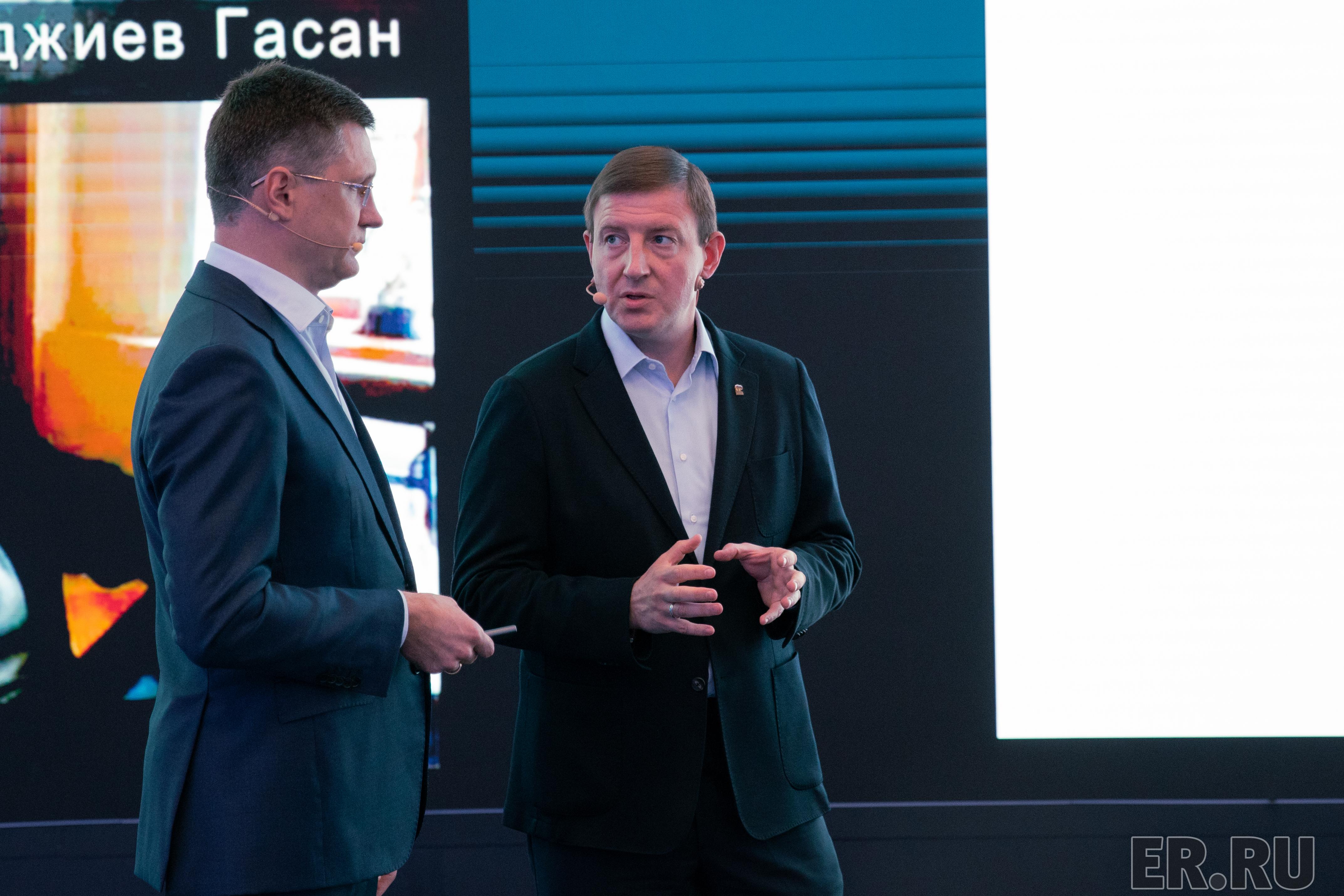 Встреча Андрея Турчака с вице-премьером Александром Новаком по  вопросам социальной газификации регионов