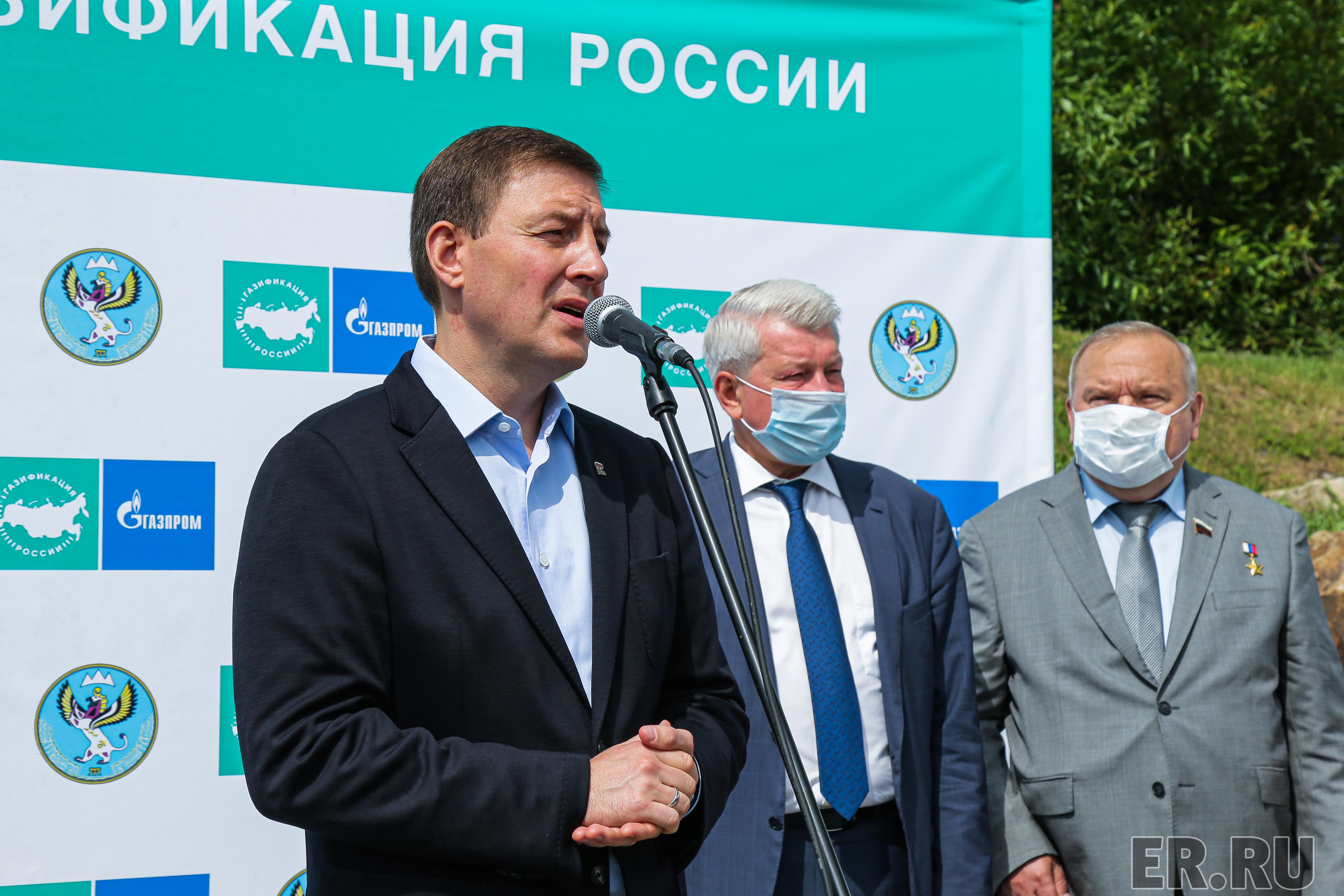 Рабочая поездка секретаря Генсовета партии Андрея Турчака в Республику Алтай