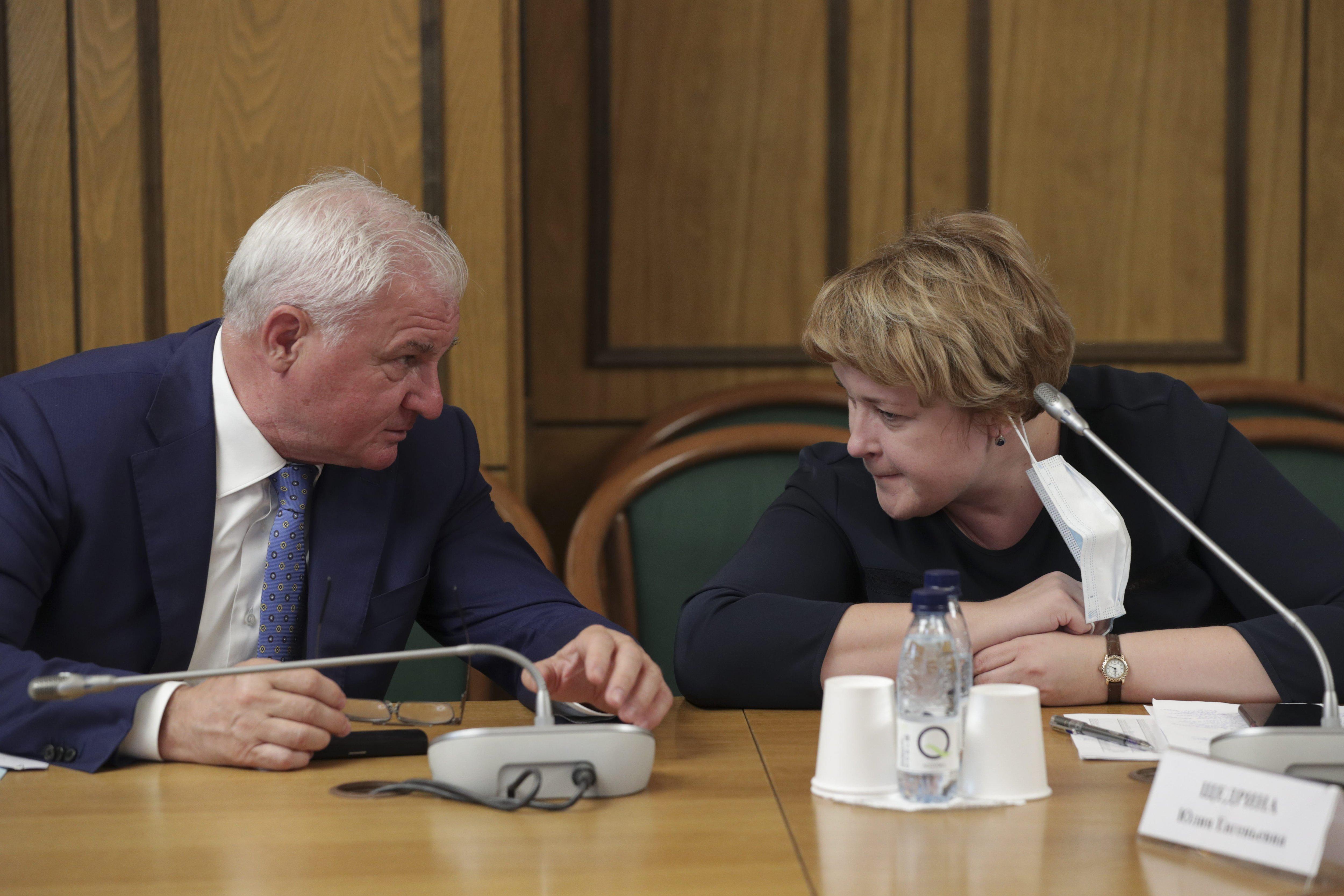 Заседание рабочей группы «Единой России» по стабилизации цен на отдельные виды социально значимых продовольственных товаров первой необходимости. Фото: duma.gov.ru