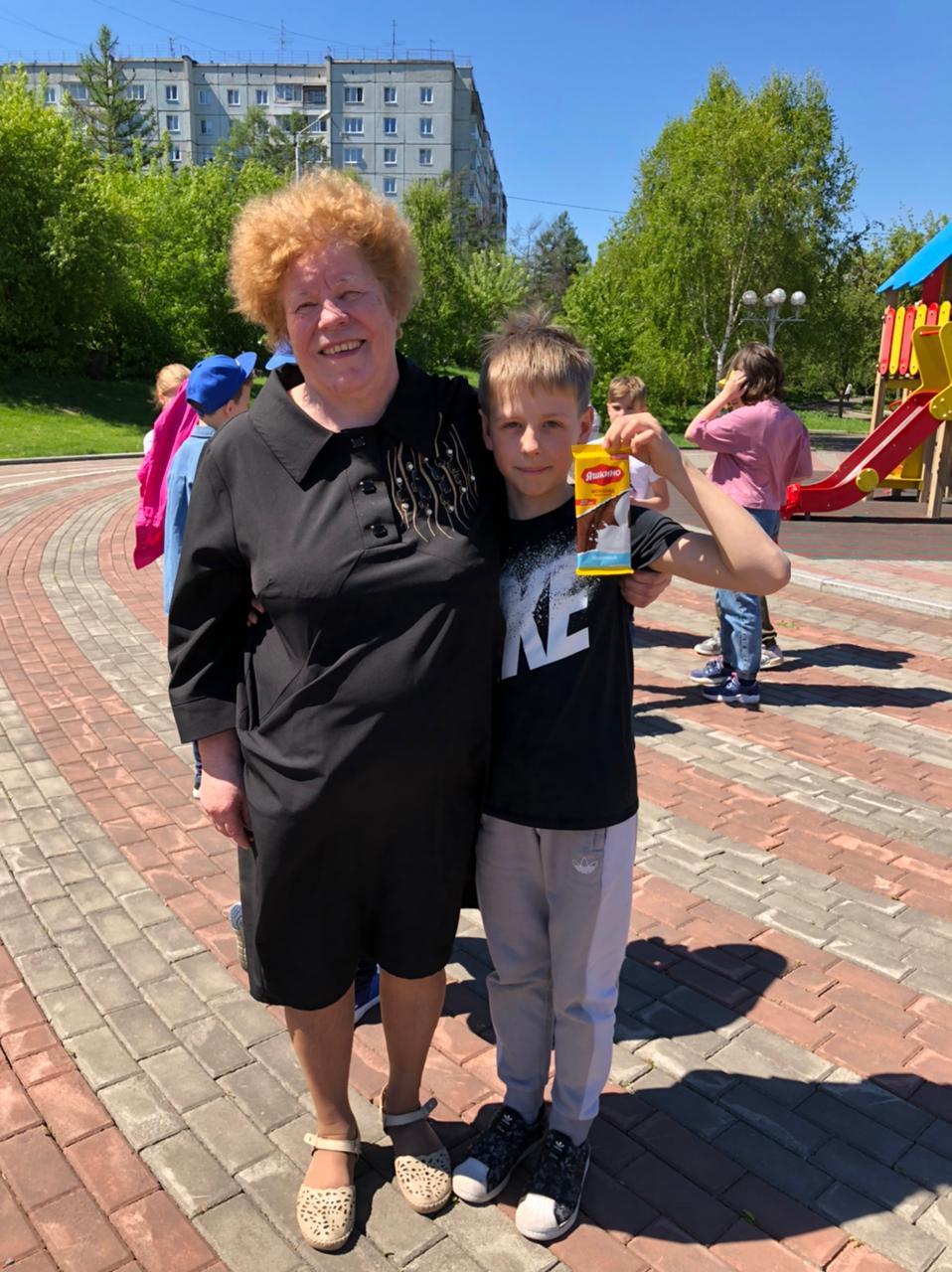 Валентина Прудкова приняла участие в спортивном детском празднике в Центральном районе Красноярска