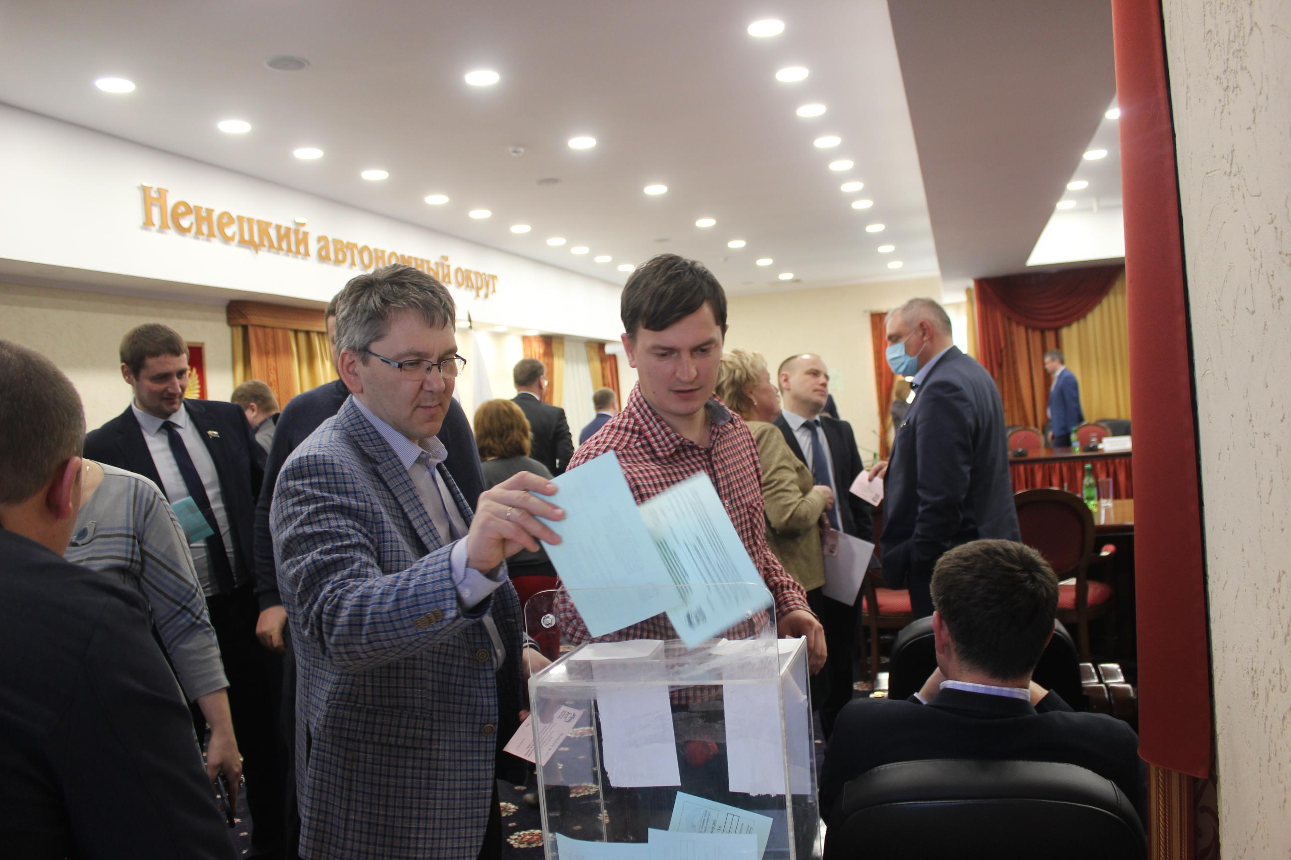 Идет голосование по кандидатурам на включение в состав Президиума РПС НРО