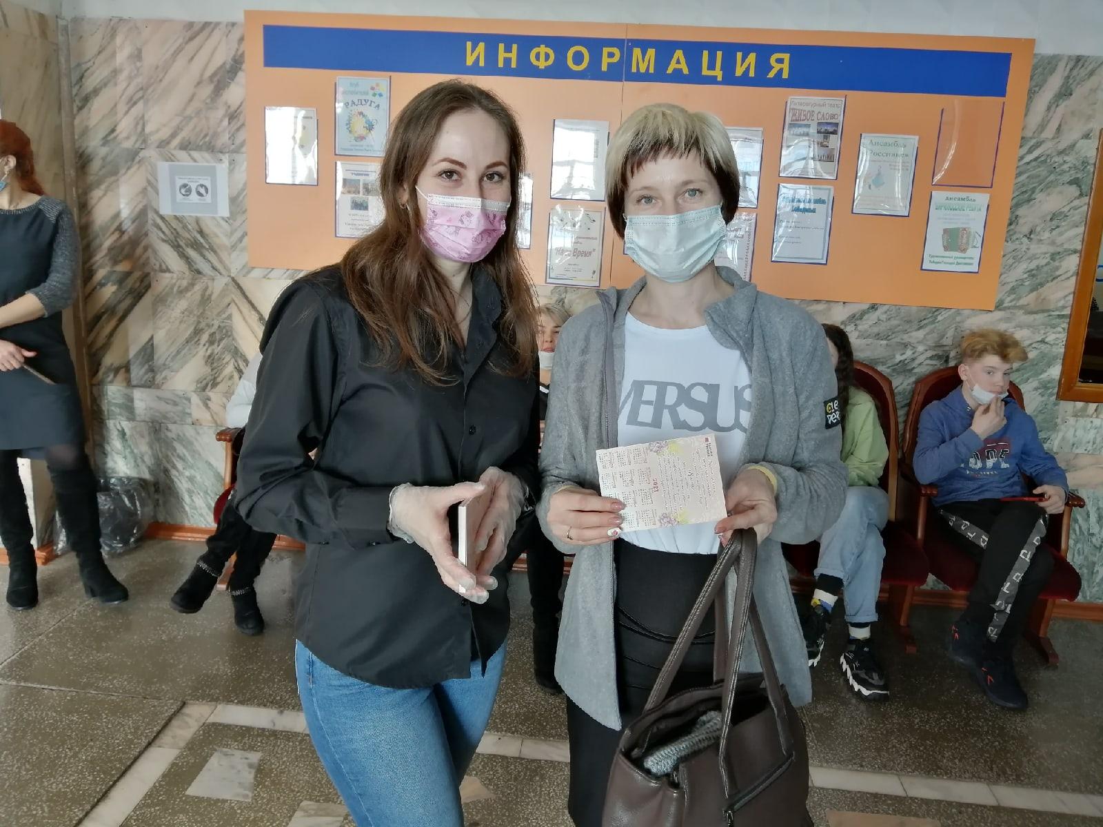 Красноярский край, Бирилюсский район. Поздравление женщин на районном мероприятии.